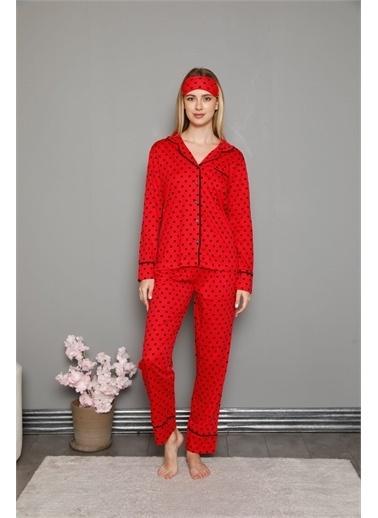 Akbeniz Sweatshirt Kırmızı
